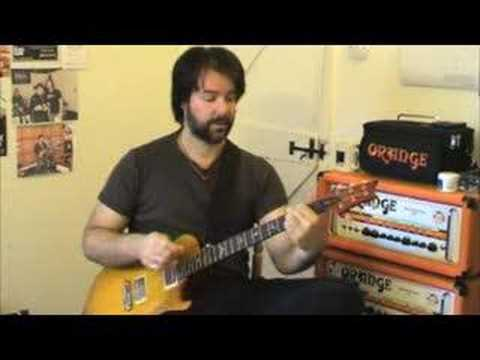 Nickelback Rockstar Guitar Lesson With Rob Chapman
