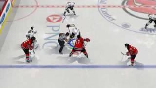 Penguins Vs. Devils (NHL 08 PC)