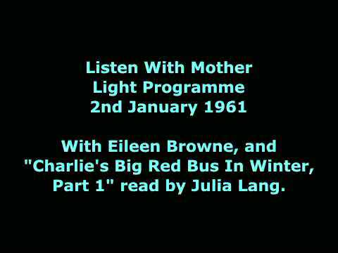 Listen With Mother, 2nd Jan 1961