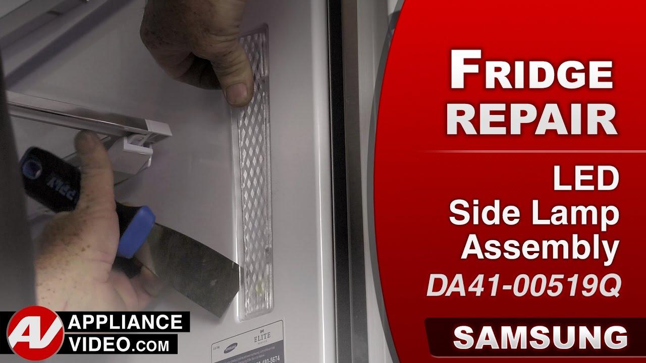 Samsung Refrigerator Light Not Working Led Side Lamp Assembly