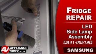 Samsung Refrigerator – light not working – LED Side Lamp Assembly