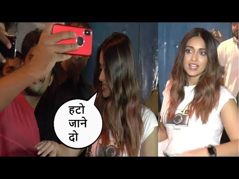 Ileana D'Cruz HARASSED By Her Fans For Clicking SELFIES After Dinner With Friends
