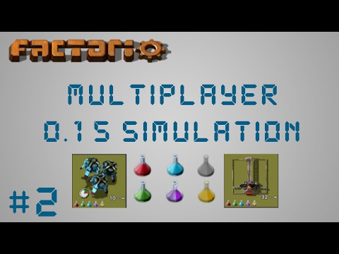 EP2: Red & Green Science! | Factorio 0.15 Simulation Multiplayer Megabase