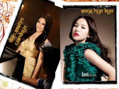 Song Hye Kyo & Dian Sastrowardoyo