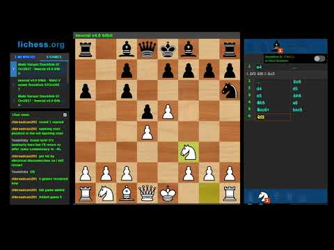 2nd Crazyhouse Chess Computer Championships