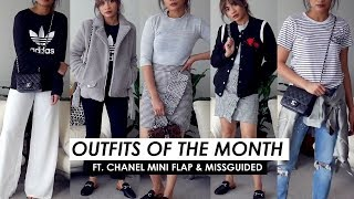 OUTFITS IM WEARING THIS MONTH!| ft. Missguided