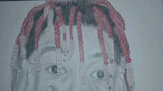 drawing lil yachty