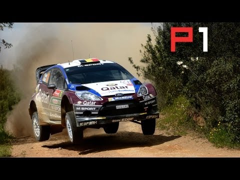 Terrifying, flat out rallying - On-board camera with WRC's Thierry Neuville!