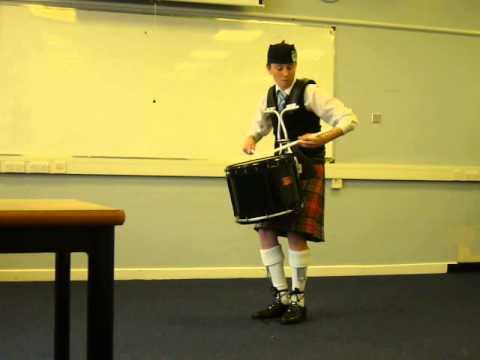 Richard Black, Syerla Pipe Band World Solo Drumming 2013
