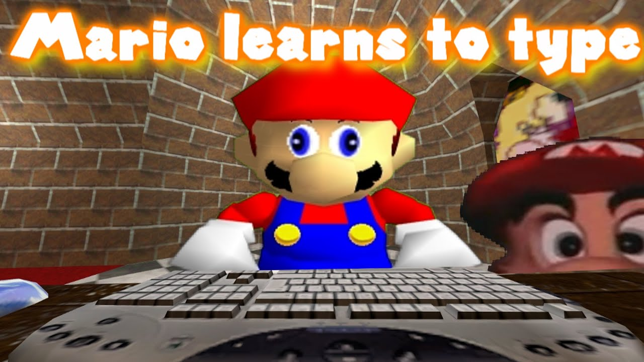 Sm64 Mario Learns To Type