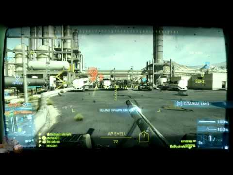 Battlefield 3 - Squad Chat On Operation Firestorm CQ