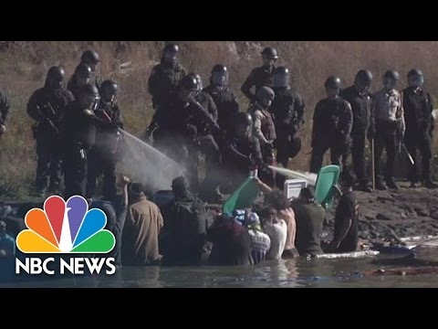 Dakota Access Pipeline Protesters: 'The World Needed To See What Was Going On' | NBC News