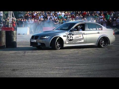 Abdo Feghali Drifts On BMW - Red Bull CPD Lebanon Qualifiers 2013