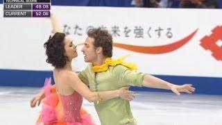 Natalie Pechalat  Fabien Bourzat - World figure skating Championships 2014 ( Saytam,Japan) FP