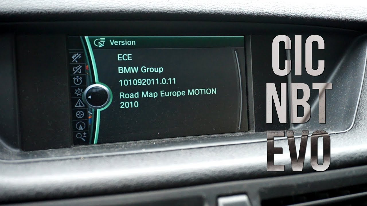 road map europe motion 2012 BMW iDrive versions (CIC, NBT, Evo, Business, Professional)   YouTube