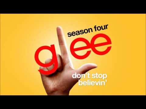 Dont Stop Believin Rachels Audition  Glee Cast HD FULL STUDIO
