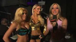 Velvet and Madison welcome Lacey Von Erich.