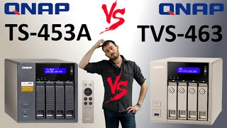 The QNAP TS-453A versus The QNAP TVS-463 4-Bay 2016 Comparison. AMD vs Intel - Is bigger better
