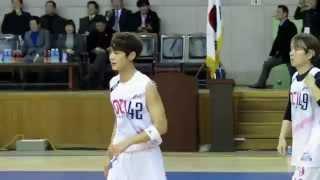 150115 - 한스타 연예인 농구대잔치 민호컷 02