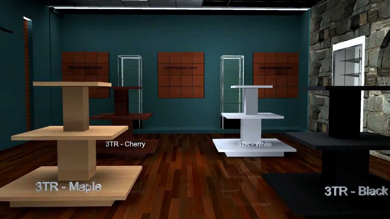 Diy Display Tables Square 3 Tiered Merchandising Avi