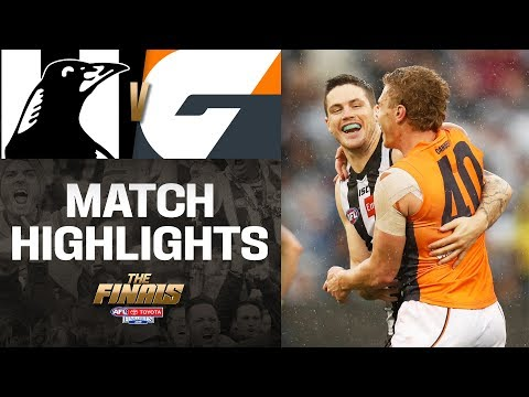 Collingwood v GWS Highlights | First Preliminary Final, 2019 | AFL