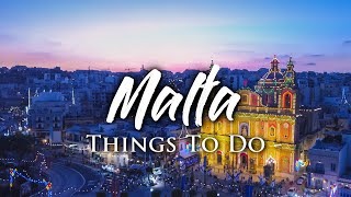 Things To Do on Malta  Travel Guide
