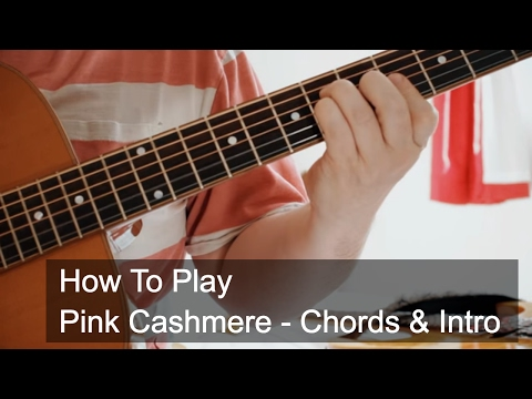Pink Cashmere Chords and Intro - Prince Guitar Tutorial