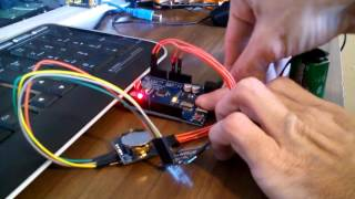 real time clock using a rtc module oled and arduino