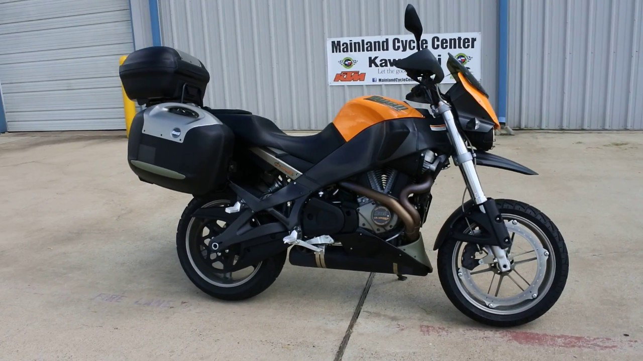 For Sale $4,599: Pre Owned 2006 Buell Ulysses XB12X - YouTube