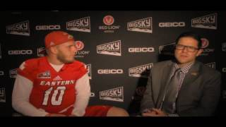 Cooper Kupp 2016 Big Sky Football Kickoff Interview