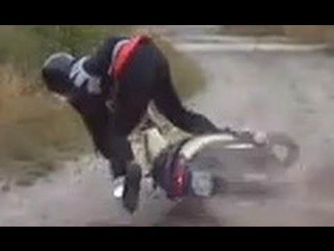 Scooter braking fail
