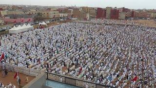 صلاة وخطبة عيد الأضحى 1435 هـ /  2014 م  الشيخ يحيى المدغري