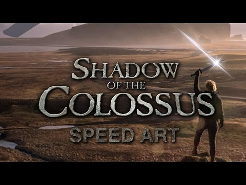 Speed Art   Shadow of the Colossus Movie Poster