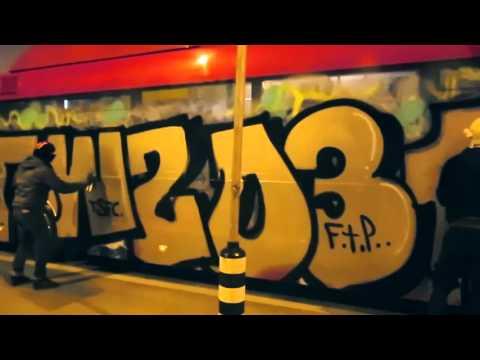 "031 x OWZ - ""PAINT THE WORLD"" - GRAFFITI BUS BOMBING"