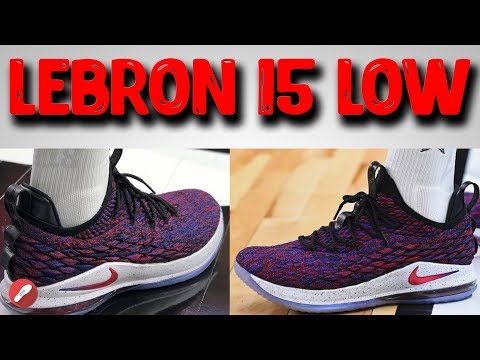 nike-lebron-15-low-initial-thoughts!