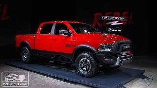 2015 Ram 1500 Rebel - First Look