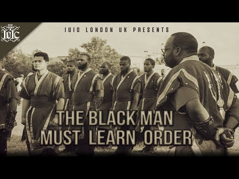 The Israelites: THE BLACK MAN MUST LEARN ORDER !!