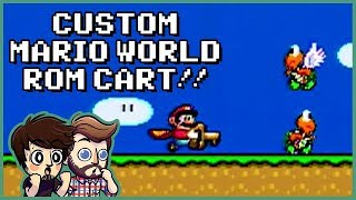 CUSTOM SUPER MARIO WORLD ROM!! | Super Mario World: Return to Dinosaur Land (Part 1)