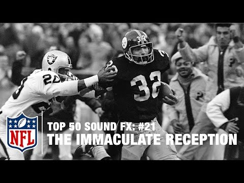 Top 50 Sound FX | #21: Franco Harris Has It! The Immaculate Reception | NFL