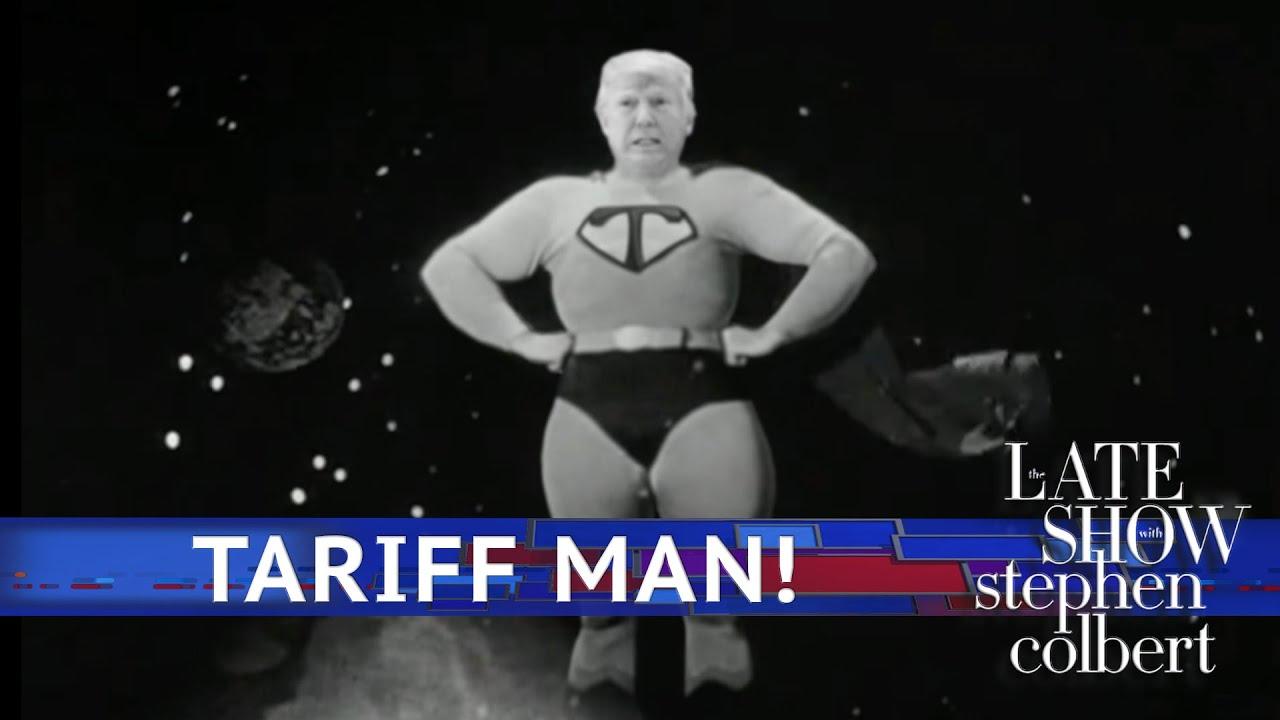 The Adventures Of Tariff Man