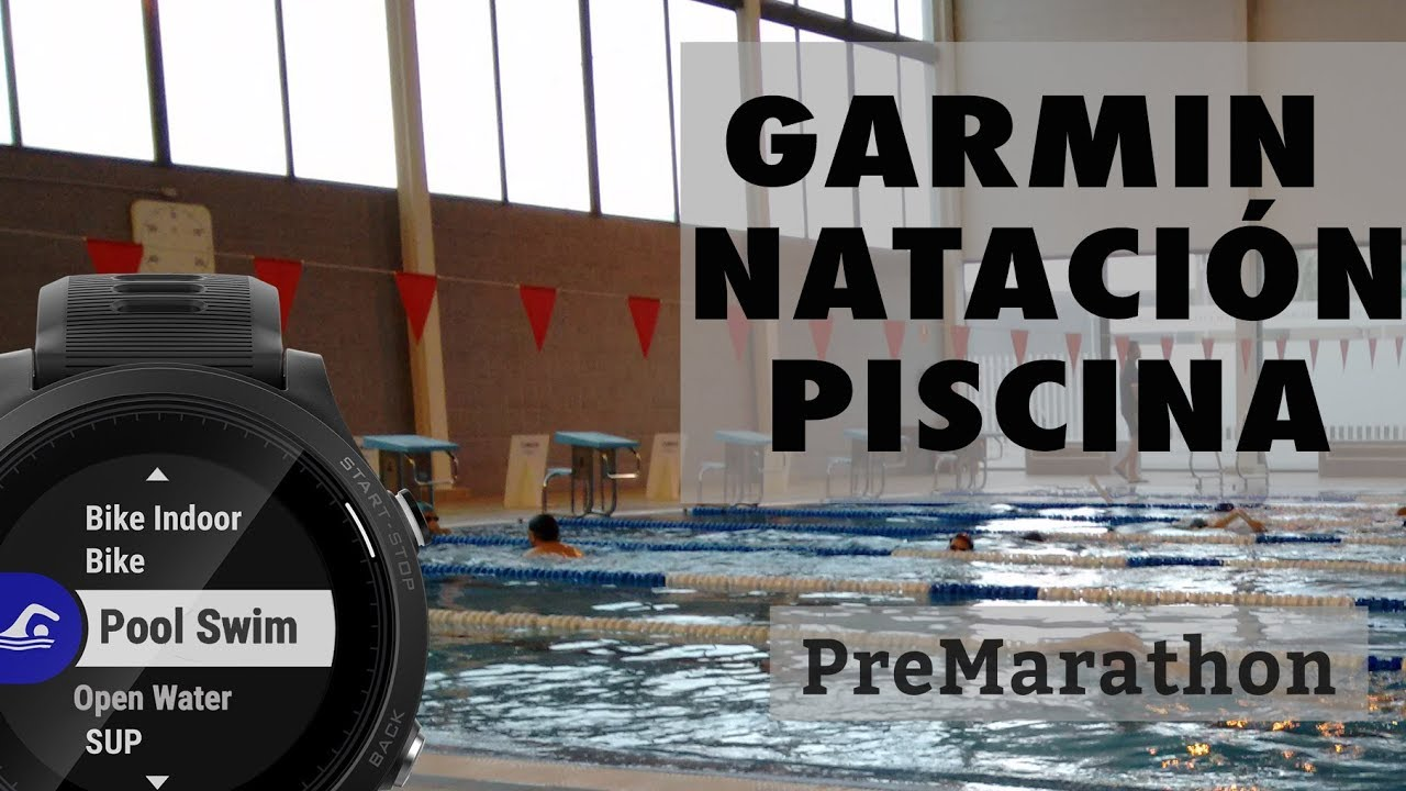 97e573506fe0 Perfil de natación en piscina para relojes Garmin.