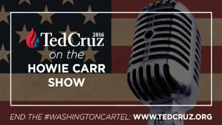 Ted Cruz on the Howie Carr Show - January 12, 2016