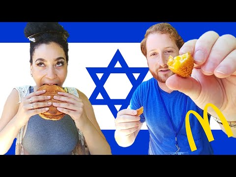 Americans Try Israeli McDonald's