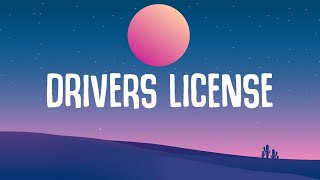 drivers license olivia rodrigo