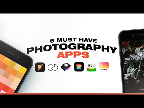 6 FREE Photography Apps For Your Phone! (2020)