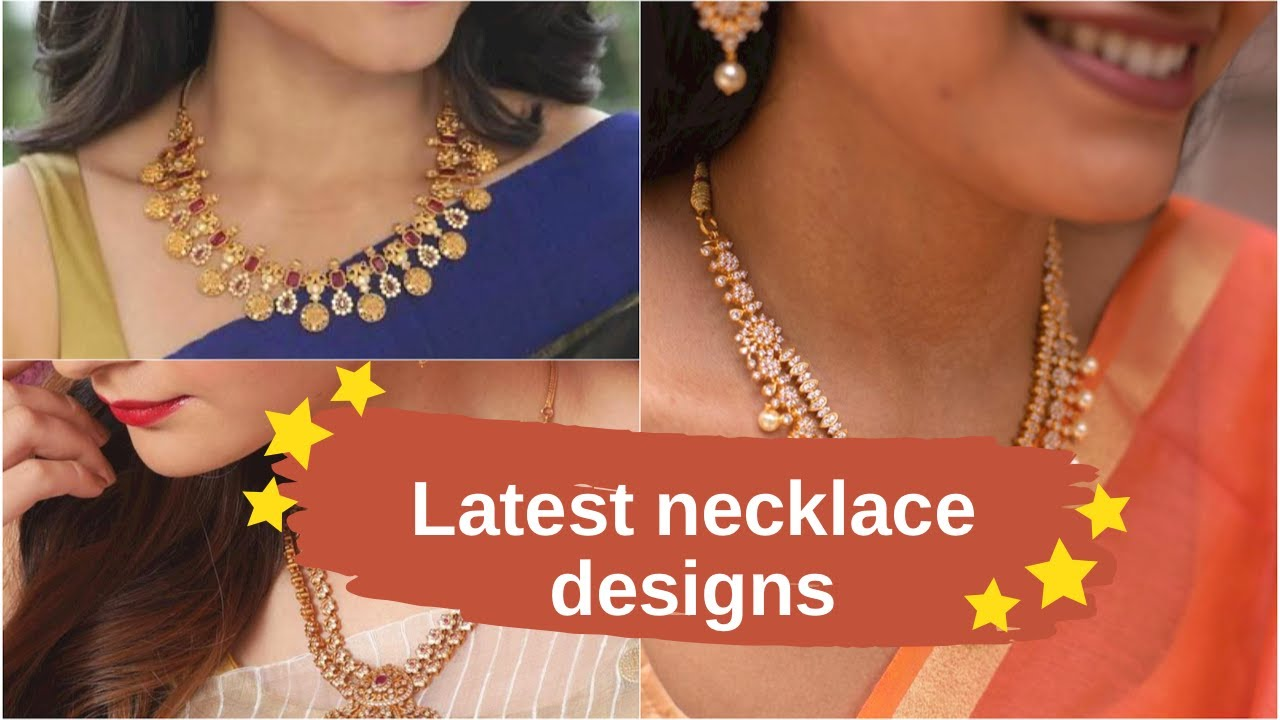 Download Latest  necklace models| gold necklace designs | Indian Fashion Trends | Indian Fashion Trends