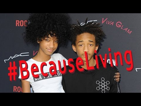 Bizarre Interview With Jaden & Willow Smith. Are Your Kids Like This?
