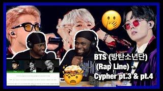 [Brothers React] BTS (방탄소년단) (Rap Line) - Cypher pt.3 & pt.4
