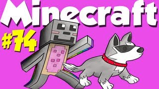 Minecraft: Let's Play with Girl on Duty #74 - FAIL TNT & Livestream Thumbnail