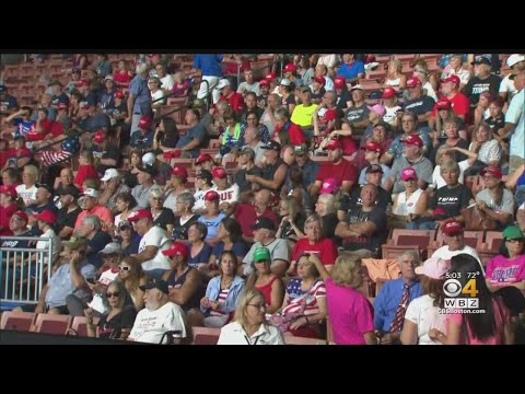 Trump Supporters Excited Ahead Of NH Rally